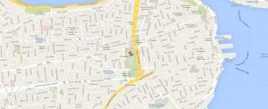 Capitolio Havana Map