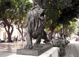 Prado Avenue Statues Havana